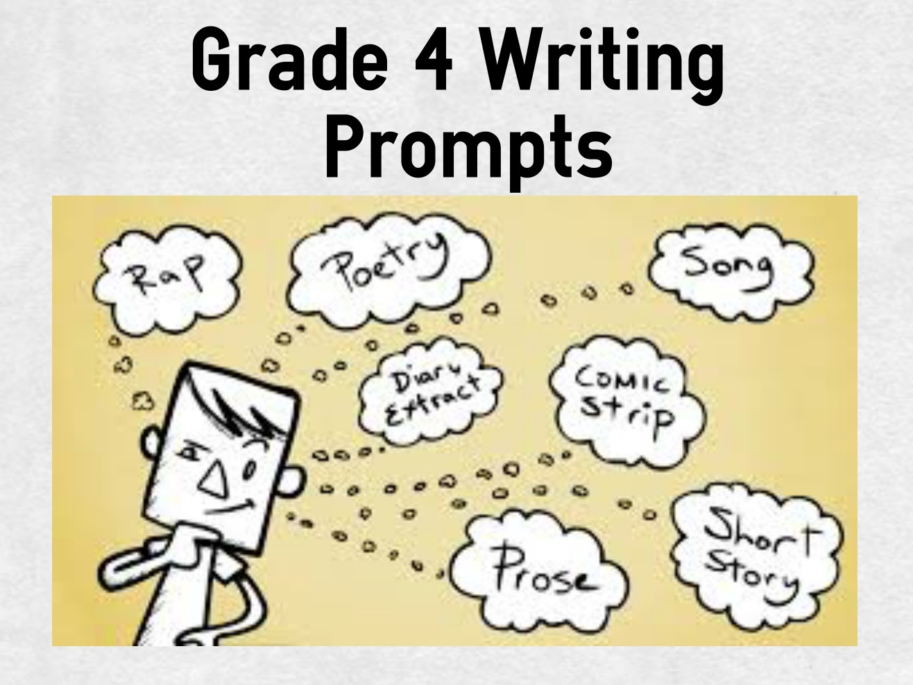 florida writing prompts M-dcps language arts/reading –updated 2012 florida writing assessment prompts from 1993-2012 grade 4 the writing prompts that follow are general approximations of the florida writing.